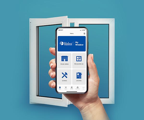 Możesz powiązać swoje inteligentne okno Filplast z aplikacją My Window.