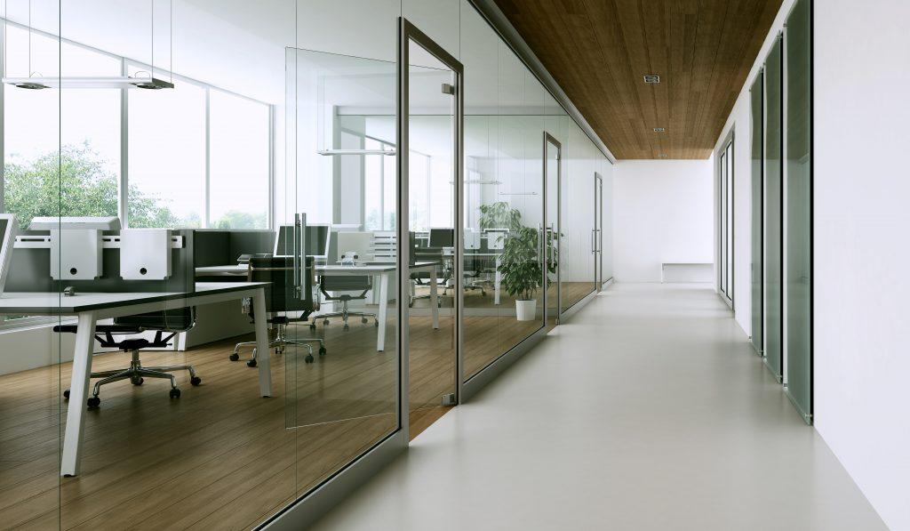 Nowoczesna przestrzeń biurowa